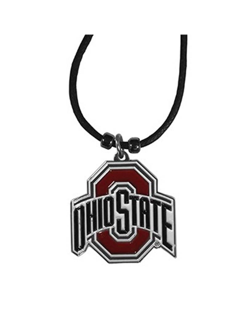 Ohio State University Athletic O Cord Necklace