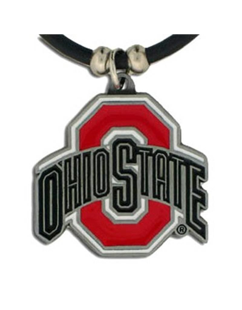 Ohio State University Rubber Cord Necklace