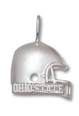 "Ohio State University Sterling Silver 5/8"" Ohio State Football Helmet Pendant"