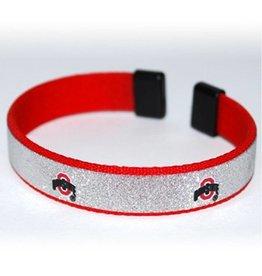 Ohio State Buckeyes Sparkling Logo Bracelet