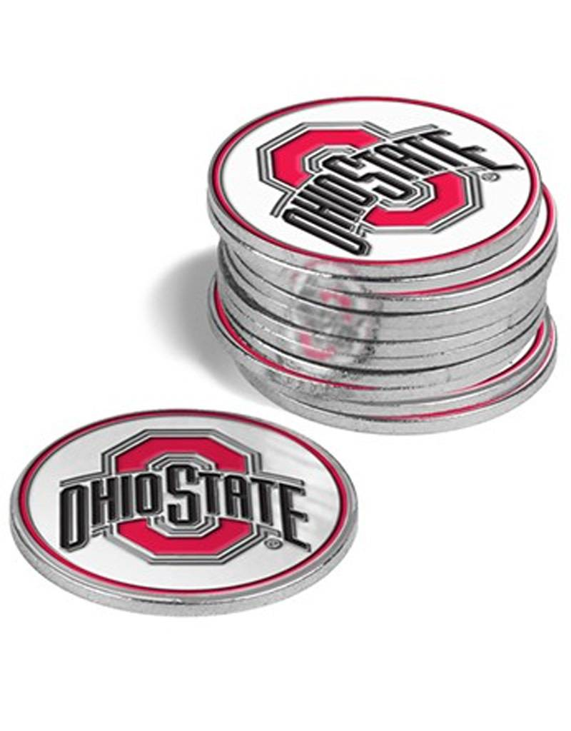 Ohio State University 12 Pack Ball Markers