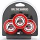 Ohio State University 3 Pack Poker Chip Golf Ball Markers