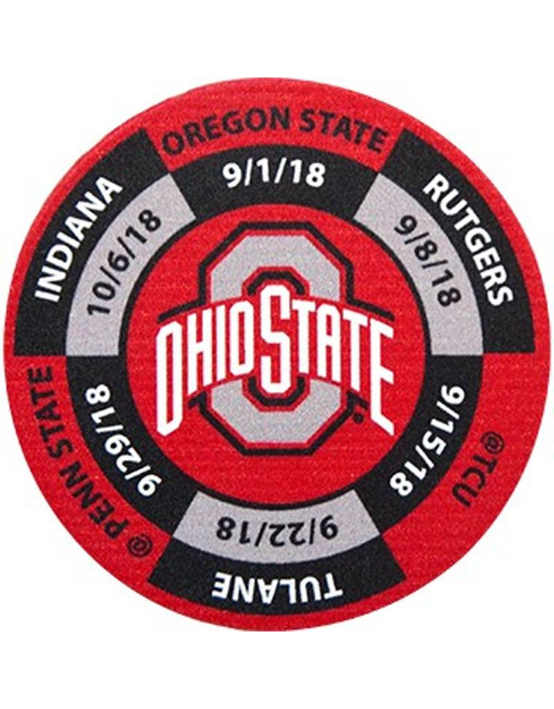 Ohio State University Golf Ball Marker 2018 Schedule