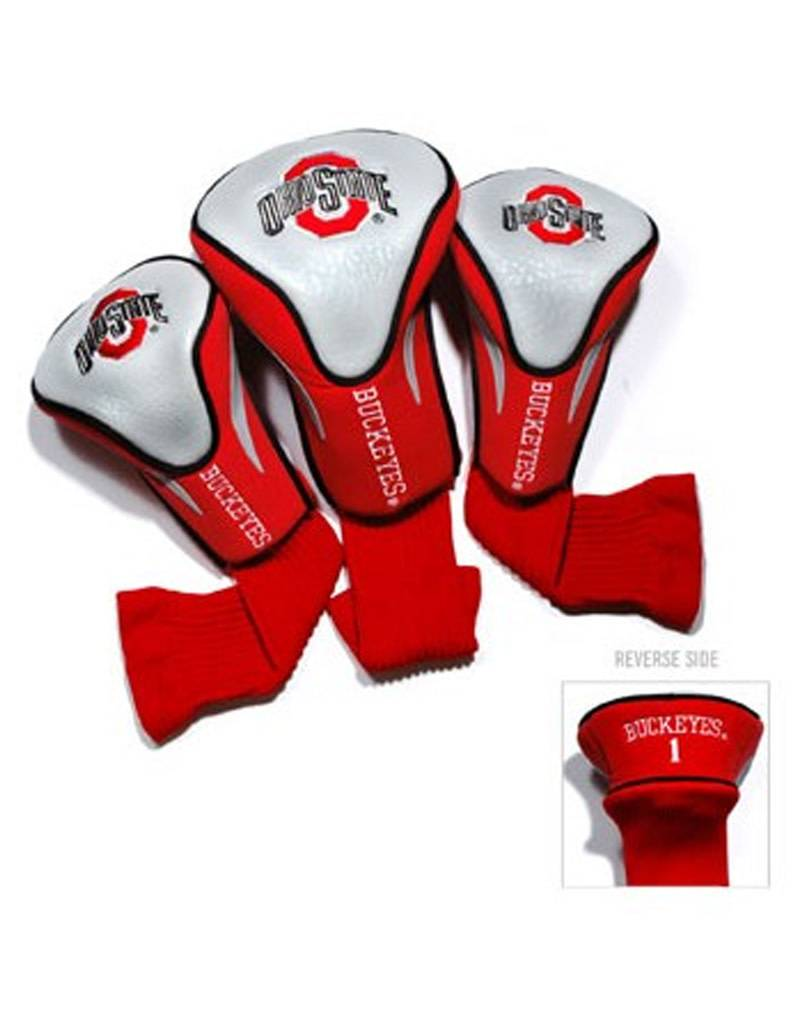 Ohio State University 3 Pack Contour Sock Head Covers