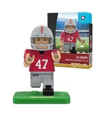 Ohio State University AJ Hawk #47 Minifigure