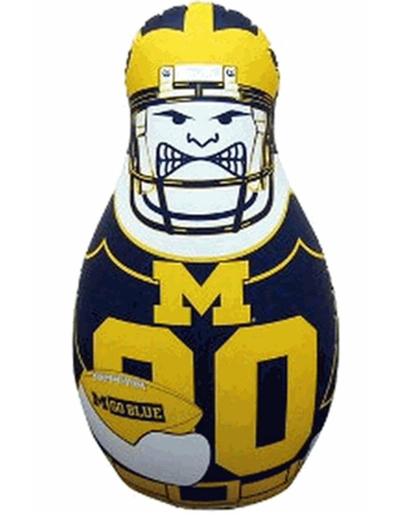 Michigan Bop Bag Tackle Buddy