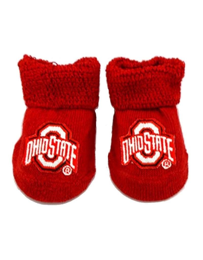Ohio State University Baby Booties
