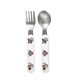 Ohio State University Spoon And Fork Set
