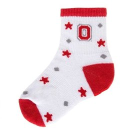 "Ohio State University ""I'm a Star"" Infant Crew Socks"