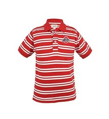 Ohio State University Oliver Striped Toddler Polo