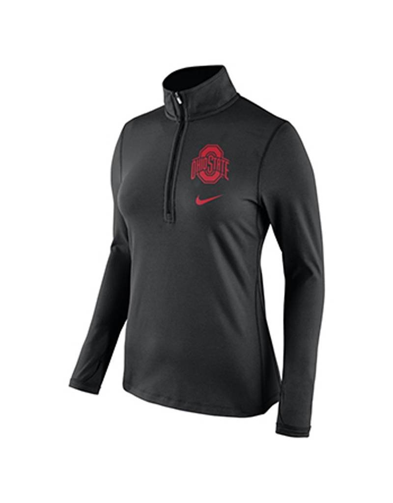 Nike Ohio State University Women's DriFIT Tailgate Half Zip