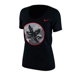 Nike Ohio State University Women's Camo Pack Tee