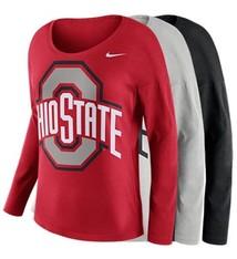 Nike Ohio State University Tailgate Long Sleeve Top
