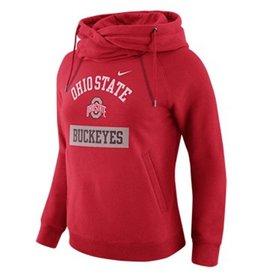 Nike Ohio State University Women's Funnel Hoodie