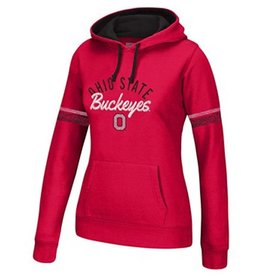 Top of the World Ohio State Women's Essential Sleeve Stripe Hoodie