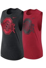 Nike Ohio State University Women's Logo Performance Muscle Tank Top