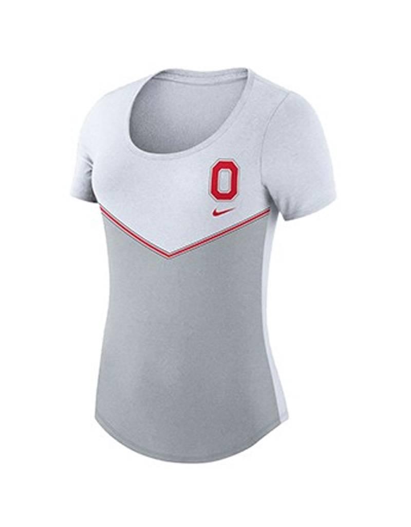 Nike Ohio State University Women's Chevron T-Shirt