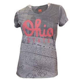 Top of the World Ohio State University Women's Staduim V-Neck Tee