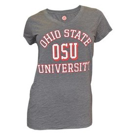 Top of the World Ohio State University Women's V-Neck Tee