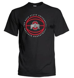 Top of the World Ohio State University Black Basketball T-Shirt