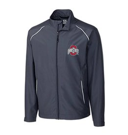 Cutter & Buck Ohio State University Men's BIG & TALL Beacon Full Zip Jacket