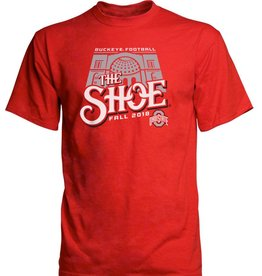 Top of the World Ohio State University 2018 Football Schedule Plus T-Shirt