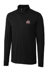 Cutter & Buck Ohio State University Belfair Pima Half Zip