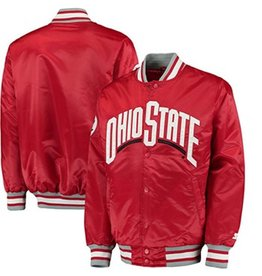 Starter Ohio State University Plus Size Starter Button Jacket