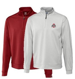 Cutter & Buck Ohio State University BIG & TALL Drytec Edge 1/2 Zip