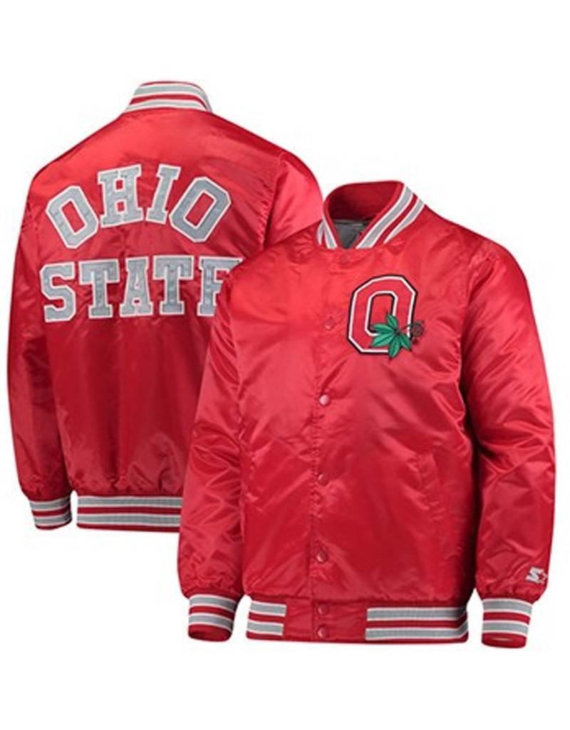 Starter Ohio State University Alumni Letterman Starter Jacket