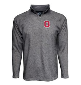 Top of the World Ohio State University 1/4 Zip Heathered Fleece