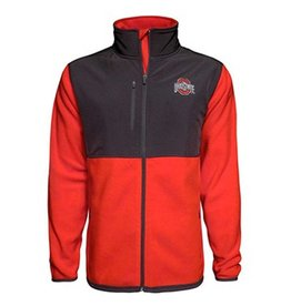 Top of the World Ohio State University Rainier Fleece Jacket
