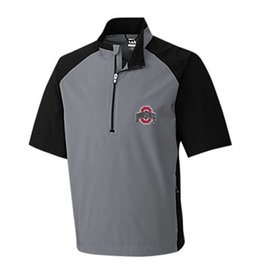 Cutter & Buck Ohio State University Summit Half Zip Short Sleeve