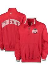 Starter Ohio State University Starter 1/2 Zip Jacket