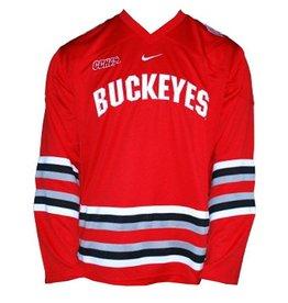Nike Ohio State Buckeyes Nike Twill Hockey Jersey  XXL