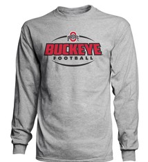 Top of the World Ohio State University 2018 Football Schedule Long Sleeve
