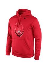 Nike Ohio State University Football Icon Hoodie