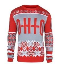 Ohio State University Men's O-H-I-O Ugly Sweater (Medium)