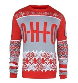 Ohio State University Men's O-H-I-O Ugly Sweater (Medium)