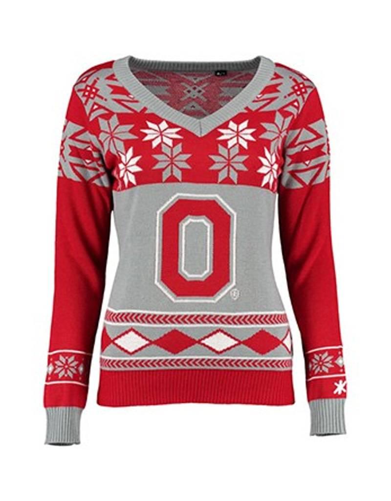 Ohio State University Women\'s Ugly Sweater - Everything Buckeyes