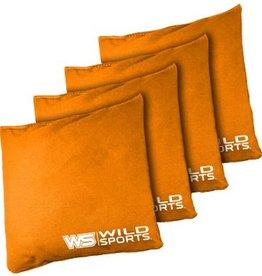 Standard Orange Regulation Cornhole Bags