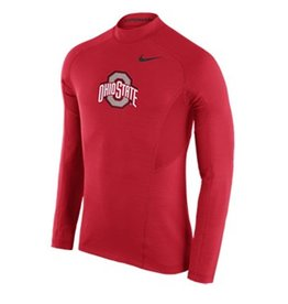 Nike Ohio State University Hyperwarm Fitted Top