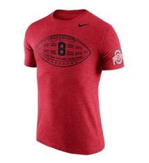 Nike Ohio State University Tri-Blend Moment Tee
