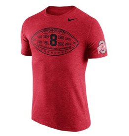 Nike Ohio State University TriBlend Moment Tee