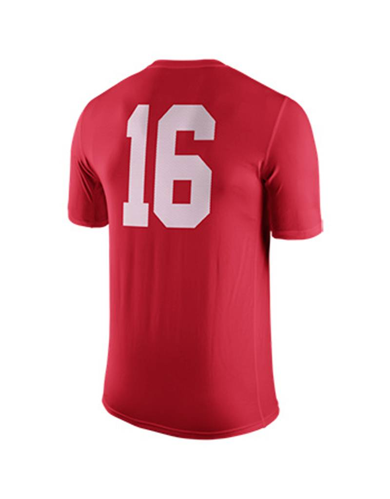 Nike Ohio State University Legend DriFit #16 Tee