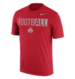 Nike Ohio State University Legend Football Tee