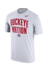Nike Ohio State University Buckeye Nation DriFIT Tee