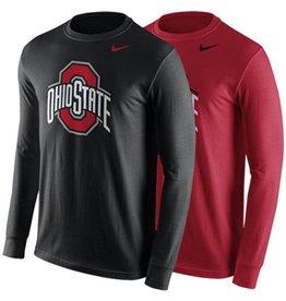 Nike Ohio State University Long Sleeve Logo Tee