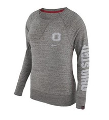 Nike Ohio State University Women's Gym Vintage Crew Neck