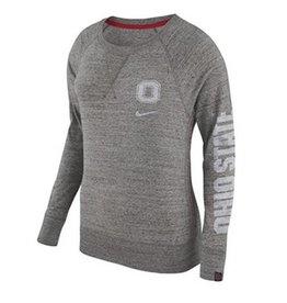 Nike Ohio State University Women's Gym Vintage Crew Neck